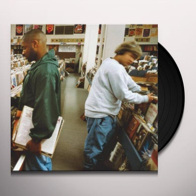 Dj Shadow ENDTRODUCING Vinyl Record