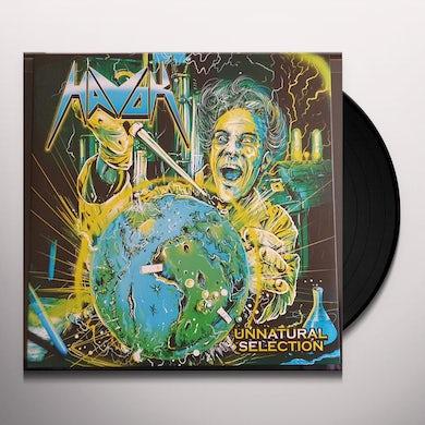 Havok Unnatural Selection (LP) (Black/Green w/ White & Blue Swirl) Vinyl Record