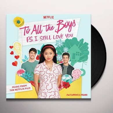 Soundtrack To All The Boys: P.S. I Still Love You (Music From The Netflix Film) (LP) (Pink) Vinyl Record