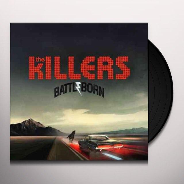 The Killers BATTLE BORN Vinyl Record
