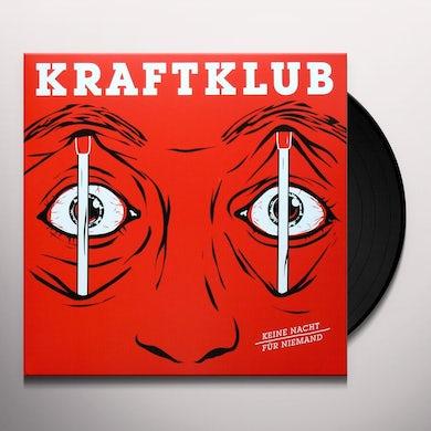 Kraftklub KEINE NACHT FUER NIEMA Vinyl Record