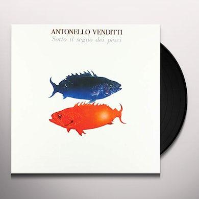 Antonello Venditti SOTTO IL SEGNO DEI PESCI 40TH ANNIVERSARY EDITION Vinyl Record