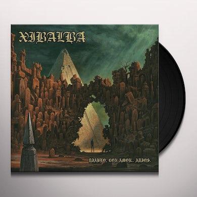 Xibalba DIABLO CON AMOR ADIOS (BLUE VINYL) Vinyl Record