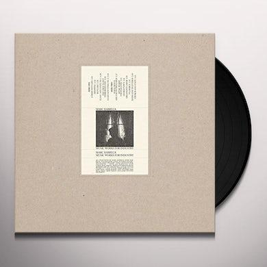 Marc Barreca MUSIC WORKS FOR INDUSTRY Vinyl Record