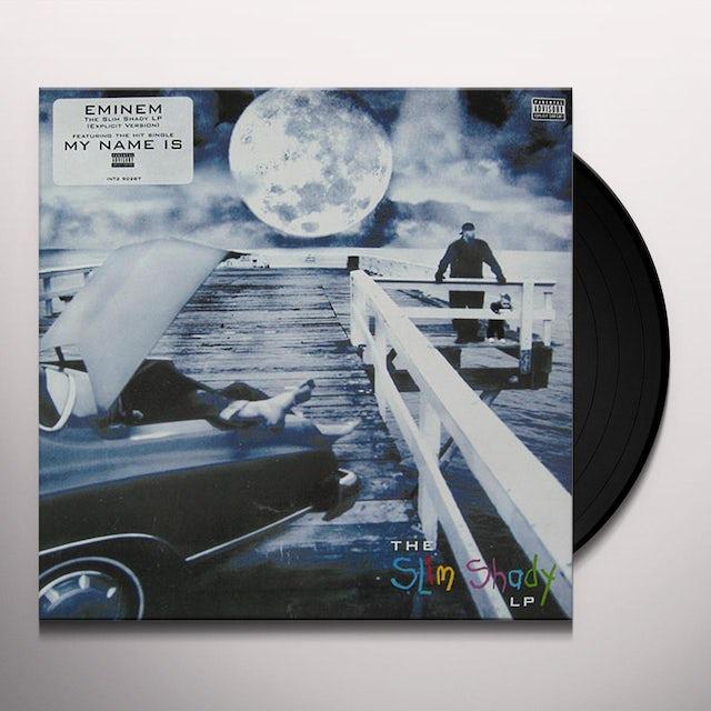 Eminem SLIM SHADY LP Vinyl Record