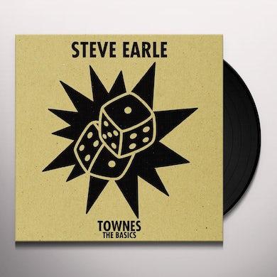 Steve Earle & The Dukes TOWNES: THE BASICS Vinyl Record