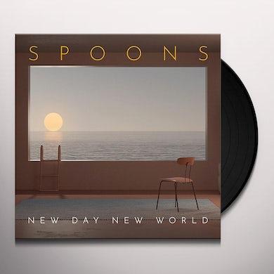 Spoons NEW DAY NEW WORLD Vinyl Record