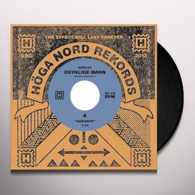 OSYNLIGE MANN AIRPORTS / EXODUS Vinyl Record