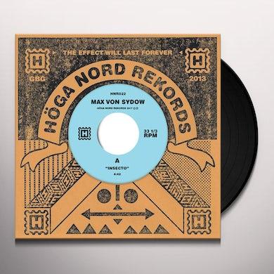 Max Von Sydow INSECTO / CARDBOARD POPE Vinyl Record
