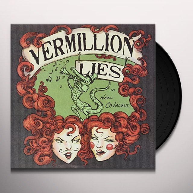 Vermillion Lies MISS NEW ORLEANS Vinyl Record