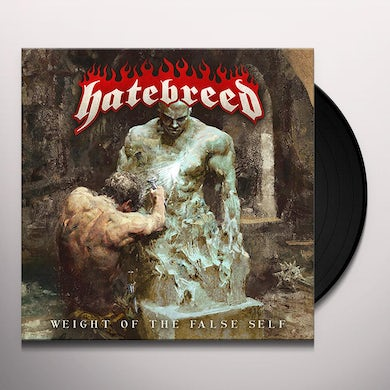 Hatebreed WEIGHT OF THE FALSE SELF (BONE W/ BLOOD SPLATTER) Vinyl Record