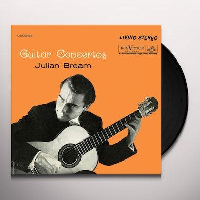 Julian Bream GUITAR CONCERTOS Vinyl Record