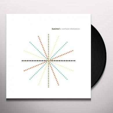 Lusine CERTAIN DISTANCE Vinyl Record