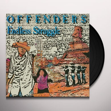 Offenders ENDLESS STRUGGLE / WE MUST REBEL / I HATE MYSELF Vinyl Record
