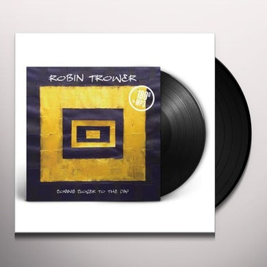 Robin Trower COMING CLOSER TO THE DAY Vinyl Record