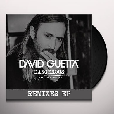 David Guetta DANGEROUS Vinyl Record