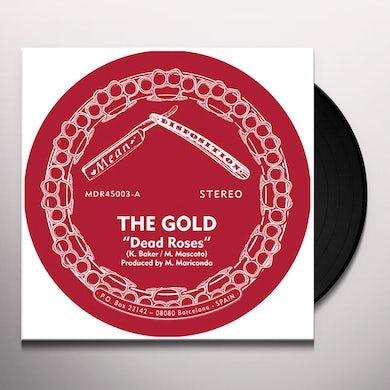 Gold DEAD ROSES Vinyl Record