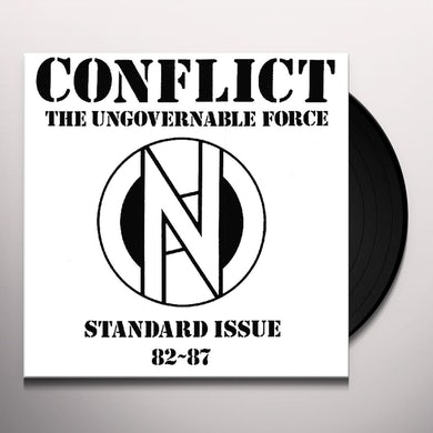 Conflict STANDARD ISSUE 82-87 Vinyl Record