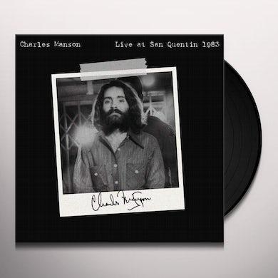 Charles Manson LIVE AT SAN QUENTIN 1983 Vinyl Record