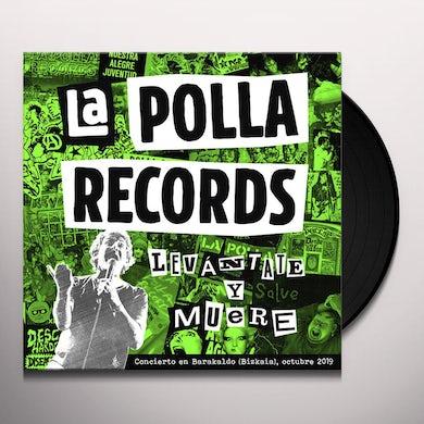 La Polla Records LEVANTATE Y MUERE Vinyl Record