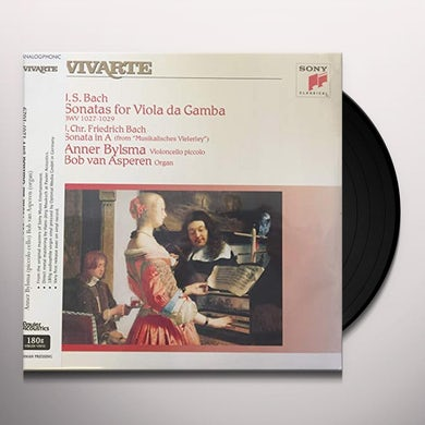 Anner Bylsma & Bob Van Asperen SONATAS FOR VIOLA DA GAMBA & SONATA IN A Vinyl Record