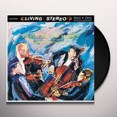 Juilliard String Quartet SCHUBERT DEATH AND THE MAIDEN Vinyl Record