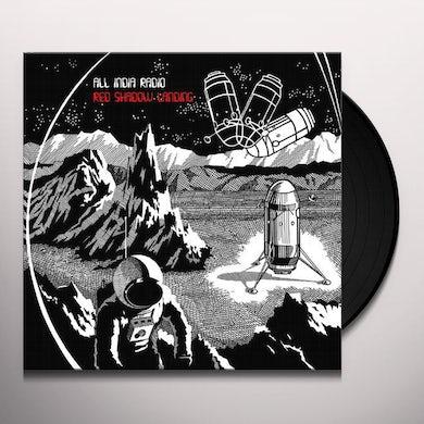 All India Radio RED SHADOW LANDING Vinyl Record