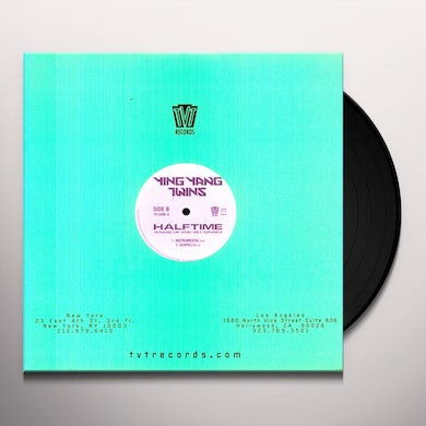 Ying Yang Twins HALFTIME: STAND UP & GET CRUNK Vinyl Record
