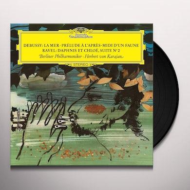 DEBUSSY / KARAJAN / BERLINER PHILHARMONIKER LA MER / PRELUDE A L'APRES-MIDI D'UN FAUNE Vinyl Record