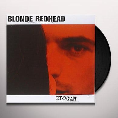 Blonde Redhead SLOGAN / LIMITED CONVERSATION Vinyl Record