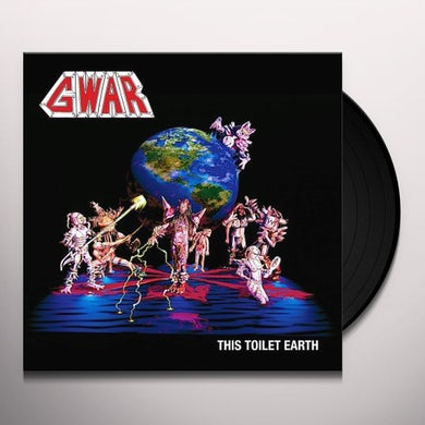 Gwar THIS TOILET EARTH Vinyl Record