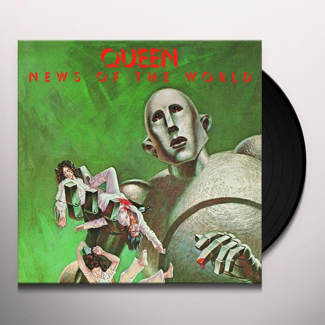 Queen NEWS OF THE WORLD Vinyl Record - 180 Gram Pressing