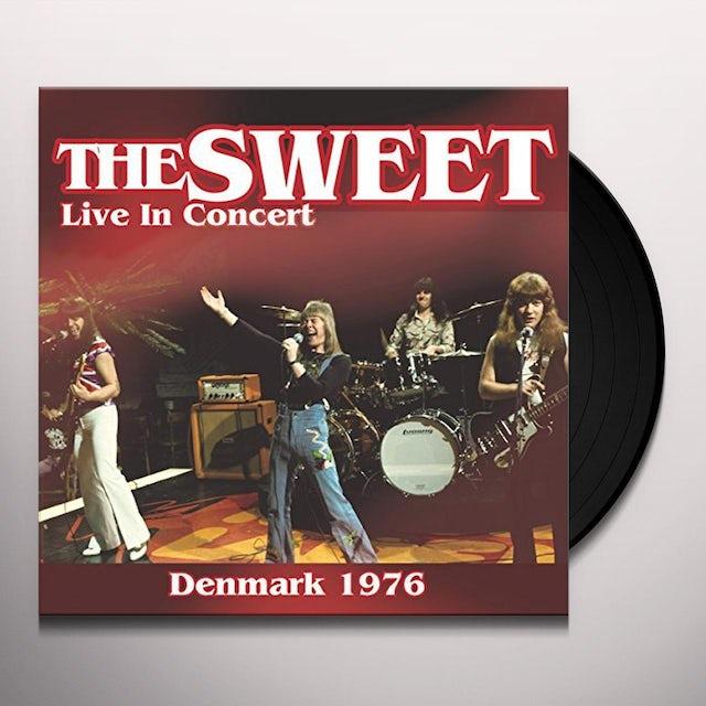 Sweet LIVE IN CONCERT 1976 Vinyl Record
