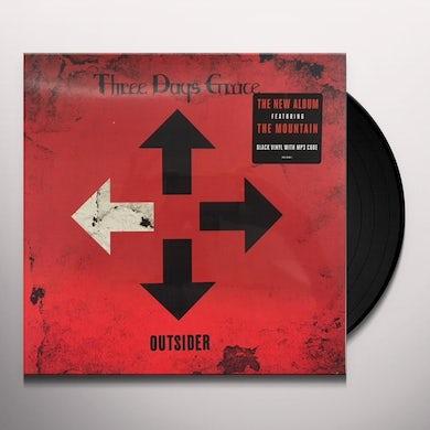 Three Days Grace Outsider Vinyl Record