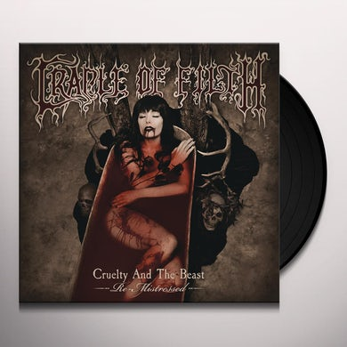 Cradle Of Filth CRUELTY AND THE BEAST - RE-MISTRESSED Vinyl Record