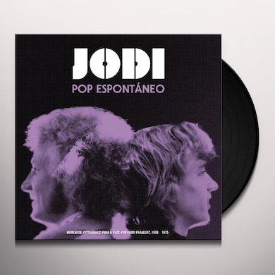 Jodi POP ESPONTANEO Vinyl Record
