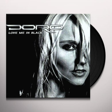 Doro LOVE ME IN BLACK (WHITE VINYL ) Vinyl Record