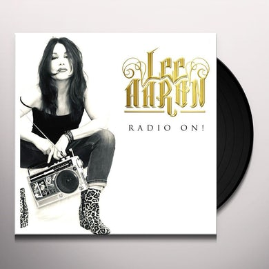 Lee Aaron RADIO ON (WHITE VINYL) Vinyl Record