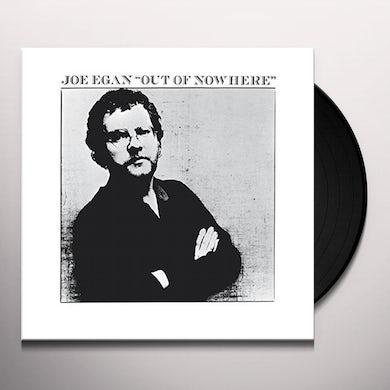Joe Egan OUT OF NOWHERE Vinyl Record