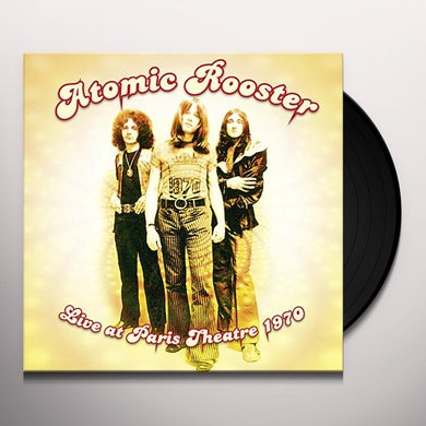 Atomic Rooster LIVE AT PARIS THEATRE 1970 Vinyl Record