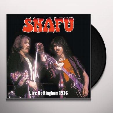 Snafu LIVE NOTTINGHAM Vinyl Record