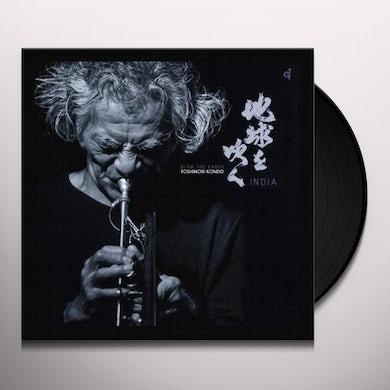 Toshinori Kondo BLOW THE EARTH (INDIA) Vinyl Record