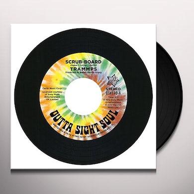 Trammps SCRUB-BOARD / HOLD BACK THE NIGHT Vinyl Record