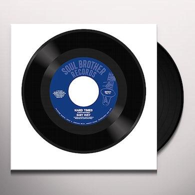 Baby Huey HARD TIMES / LISTEN TO ME Vinyl Record