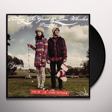 Emmy The Great & Tim Wheeler THIS IS CHRISTMAS Vinyl Record