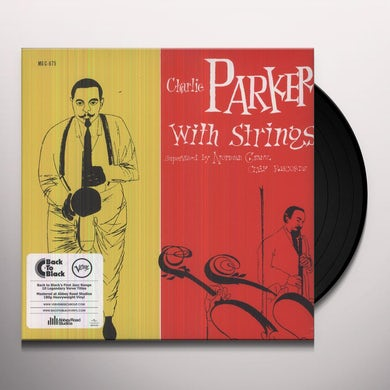 CHARLIE PARKER WITH STRINGS Vinyl Record