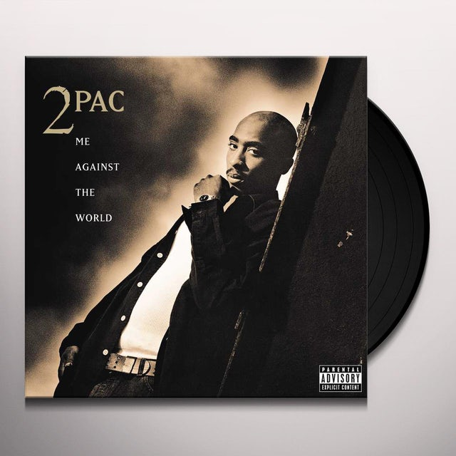 Tupac ME AGAINST THE WORLD Vinyl Record