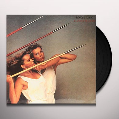 Roxy Music FLESH & BLOOD Vinyl Record