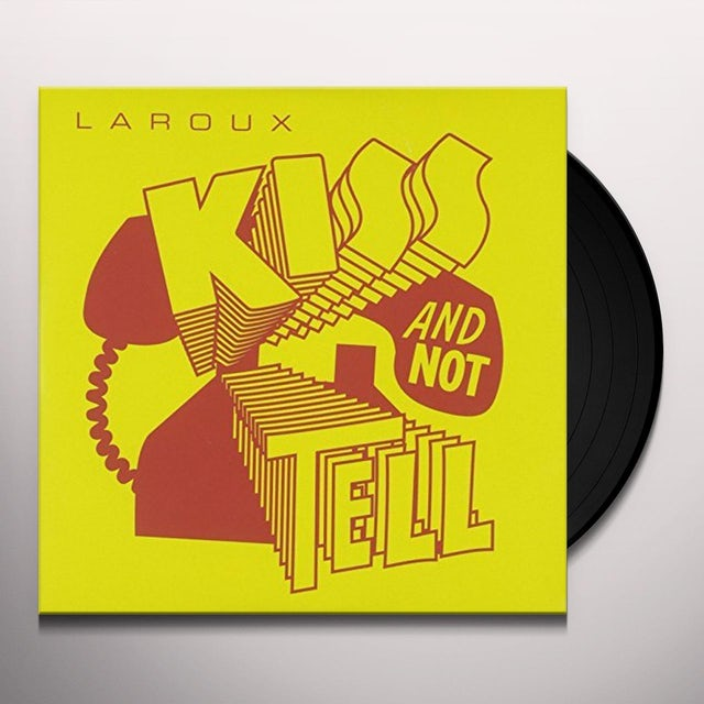 La Roux KISS & NOT TELL Vinyl Record