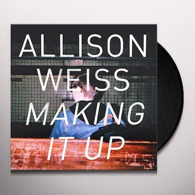 Allison Weiss MAKING IT UP Vinyl Record